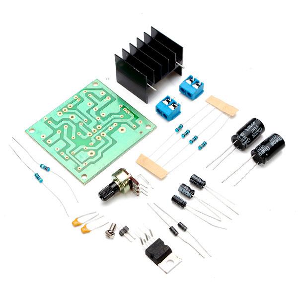 Amplificador de audio con TDA2030, TDA2040 y TDA2050