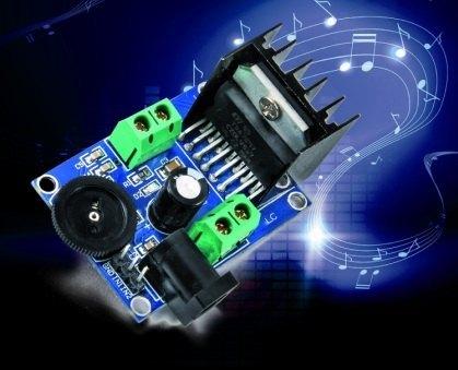 Amplificador de 15 Watios compacto y Stéreo