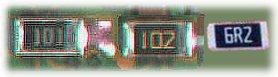 resistores de superficie