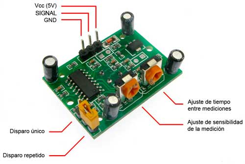 Conexiones sensor de movimiento