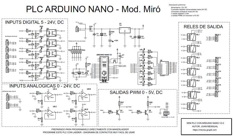 PLC-Arduino-Nano-Joan-Mengual