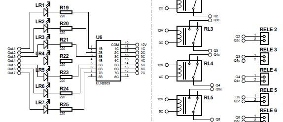 ULN2803 para PLC Arduino
