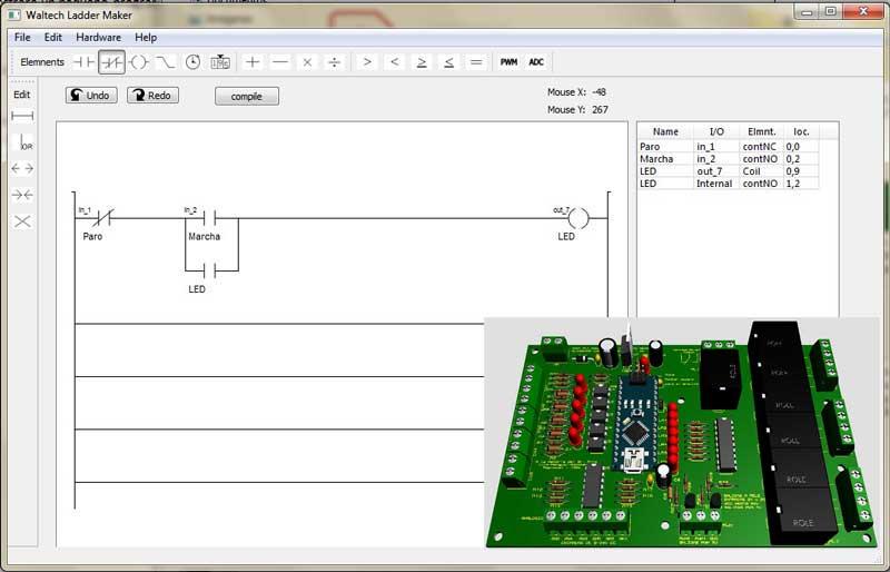 editor-ladder maker free for Arduino