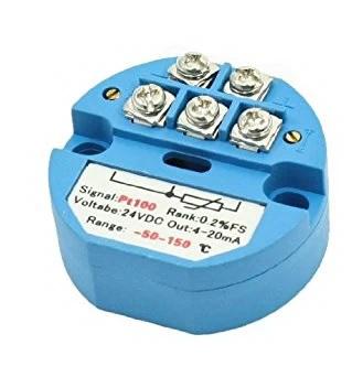 Interfaz para Sensor de Temperatura RTD PT100 con Salida 4-20mA