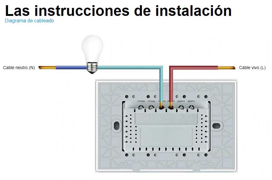 Interruptor touch Livolo
